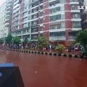 La capitale du Bangladesh inondée de rivières de sang pendant la fête de l'Aïd