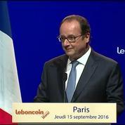 Hollande tacle Sarkozy : «Tout le monde connaît Le Bon Coin... Ou presque»