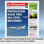 Deux avions bombardiers russes interceptés en Bretagne