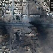 La bataille de Mossoul par images satellites