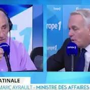 Ayrault : «Venir à Paris pour parler de la Syrie aurait été très embarrassant» pour Poutine