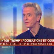L'écrivain américain Theo Hakola juge le débat Clinton/Trump frustrant et déprimant