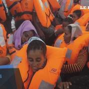Plus de 6000 migrants secourus en mer, au large de la Libye