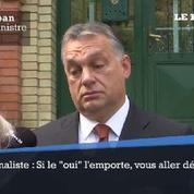 Référendum sur les migrants en Hongrie, Viktor Orban promet de démissionner si le 'oui' gagne
