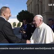 Le pape François en visite en Azerbaïdjan