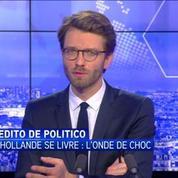 Le dernier livre de confidences de F.Hollande? Un suicide politique, selon Nicolas Winocur