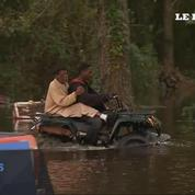 L'ouragan Matthew provoque de très fortes inondations en Caroline du Nord