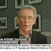 Le Français Jean-Pierre Sauvage reçoit le prix Nobel de chimie