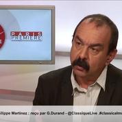 Martinez (CGT) à propos de Juppé et Fillon: «Je crois qu'ils sont décalés avec la vraie vie»