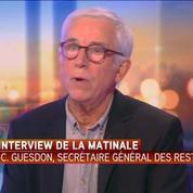 Jean-Claude Guesdon: Depuis deux ans, le nombre de personne accueillies plafonne en dessous du million