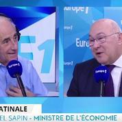 Pour Michel Sapin, François Hollande est le candidat idéal pour la présidentielle