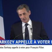 Nicolas Sarkozy reconnait sa défaite et appelle à voter Fillon