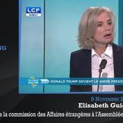 Inquiétude, incertitude, boulevard pour le FN: les réactions politiques à l'élection de Donald Trump