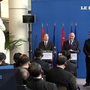Discussions entre la France et la Chine autour d'Areva et du nucléaire