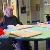 L'incroyable cohabitation entre des personnes âgées et les enfants d'une crèche