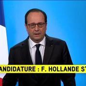 François Hollande ne sera pas candidat à la présidentielle