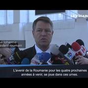 Législatives en Roumanie : le président appelle à voter contre la corruption