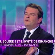Thierry Solère : François Fillon, c'est pas un libéral ou un idéologue : c'est un pragmatique