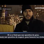 Le message de résistance d'un youtubeur berlinois à la suite de l'attentat du marché de Noël