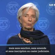 Affaire Tapie : Christine Lagarde