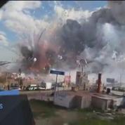 Explosions en série sur un marché de feux d'artifice au Mexique
