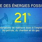 Le méthane, menace pour la lutte contre le réchauffement climatique