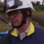 Colombie : les images du site du crash de l'avion
