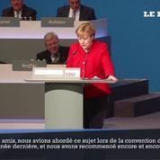 Réélue à la tête de la CDU, Angela Merkel durcit le ton sur les migrants