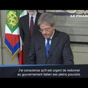 Italie : Paolo Gentiloni succède à Matteo Renzi