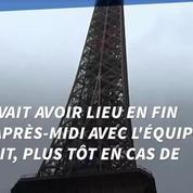 Tour Eiffel: grève reconduite, la tour reste fermée mercredi