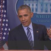 Obama tacle Poutine et sa Russie «faible» qui «n'innove pas»