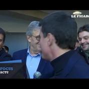 Primaire de la gauche : Manuel Valls a voté à Evry