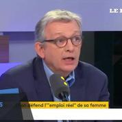 Pierre Laurent découvre en direct qu'un député PCF embauche sa femme