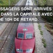 Tempête: Au nord de la France, 180 passagers restés bloqués toute la nuit dans un Thalys