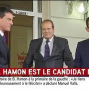 Hamon et Valls rassemblés à Solférino pour la