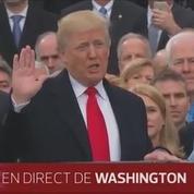 Donald Trump prête serment sur la bible