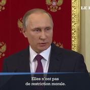 Poutine défend Trump contre les rumeurs