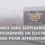 Grand froid: l'approvisionnement électrique de la France assuré mercredi