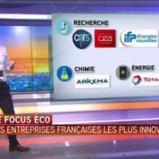 Le focus éco : les entreprises françaises parmi les plus innovantes