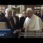 Le pape François reçoit Mahmoud Abbas