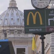 Le nouveau Mc Donald's du Vatican reçoit un accueil mitigé
