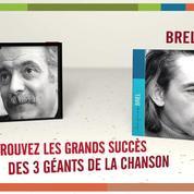 Trois Hommes sur la photo, Brel, Brassens et Ferré - de Sandrine Dumarais Universal
