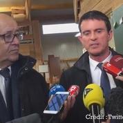 Valls réagit à la gifle qu'il a reçue à Lamballe (Bretagne)