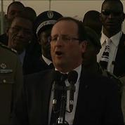 Au Mali, François Hollande dresse son bilan militaire