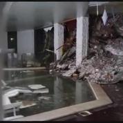 Italie: l'intérieur de l'hôtel complètement dévasté par l'avalanche