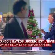 François Bayrou : Je refuse de regarder les croyants comme un corps électoral