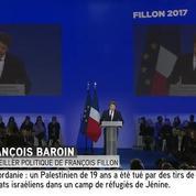Pour François Baroin, Macron est le candidat « clandestin du PS »