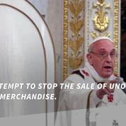 The Vatican may copyright the Pope's image