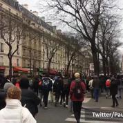 Affaire Théo: des lycéens se rassemblent place de la Nation à Paris