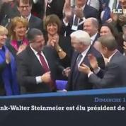 Frank-Walter Steinmeier est élu président fédéral de l'Allemagne